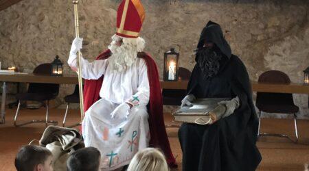 Besuch von Samichlaus und Schmutzli
